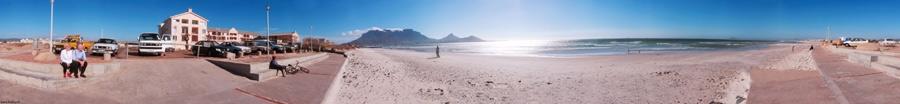 Kapstadt - Blick von Milnerton auf den Tafelberg