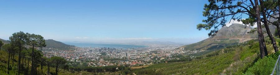 Kapstadt - vom Fuß des Tafelbergs aus